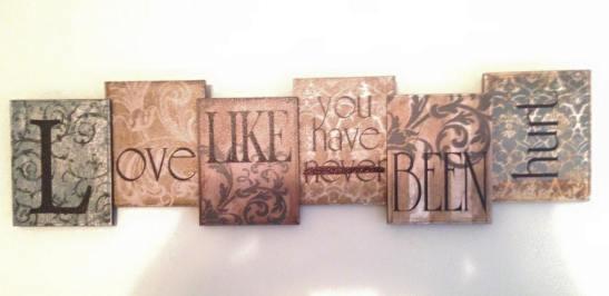 Love like...